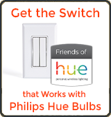 Philips Hue Bulb and RunLessWire Wall Switch